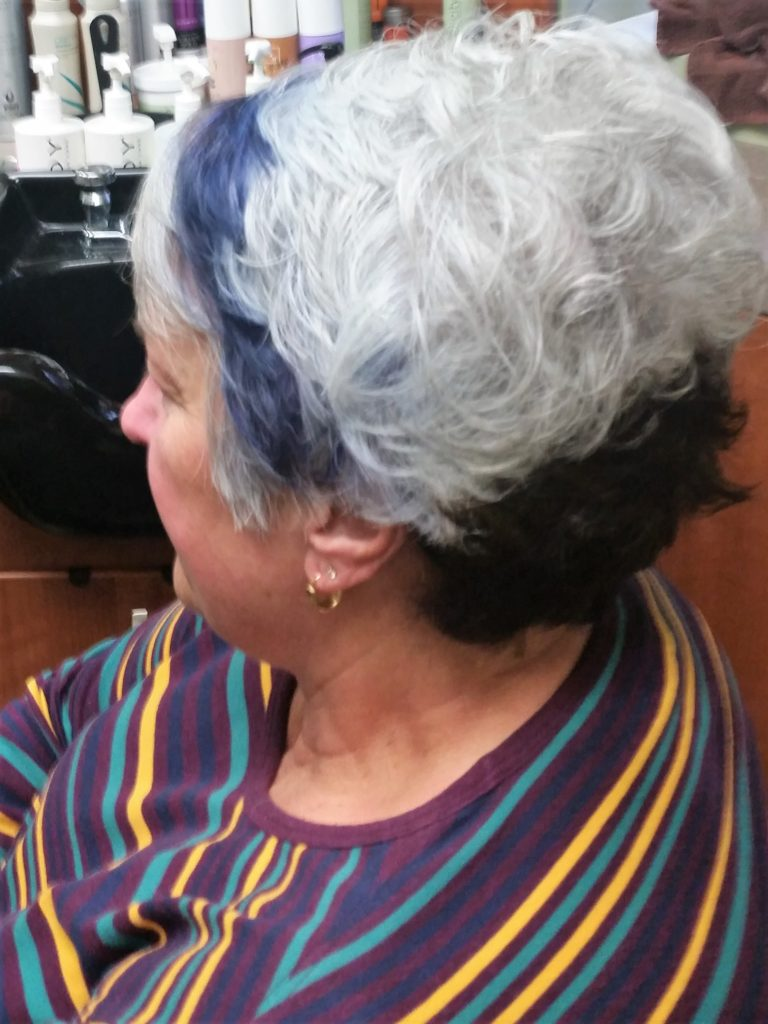 Hair color example 2
